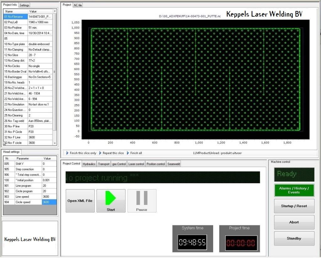 Pillowplate_machine_touch_screen_Keppels_laser_welding