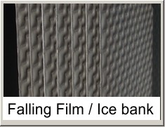 Falling Film chiller and Ice banks