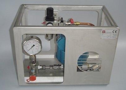 Doppelmantel Pumpe