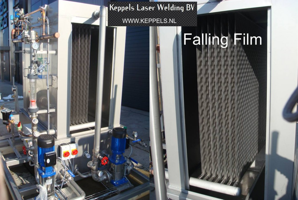Falling Film water chiller