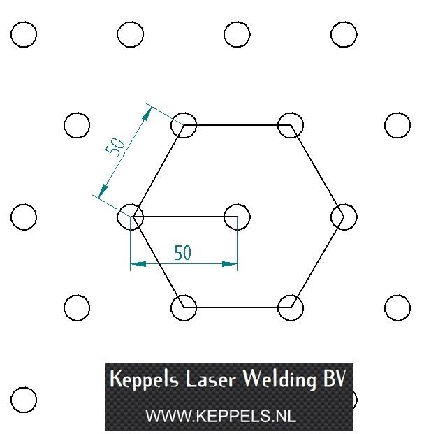 pillowplate perfect diamond pattern