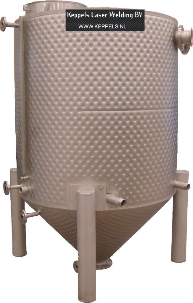 pillowplate tank