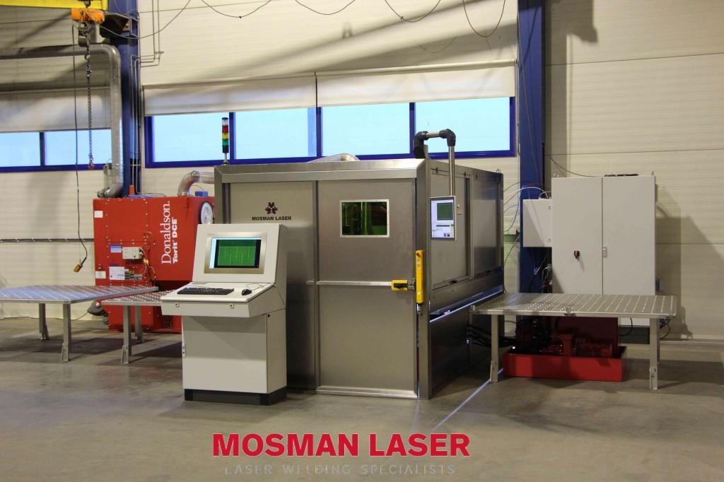 Bild Laserschweissanlage laserschweissen Doppelmantel
